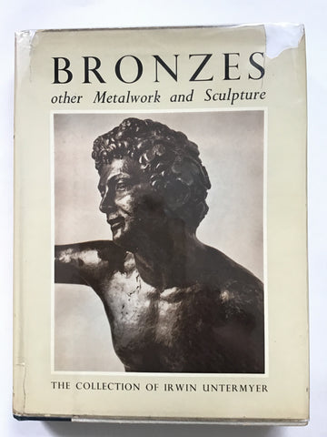 Bronzes : Other Metalwork and Sculpture : The collection of Irwin Untermyer
