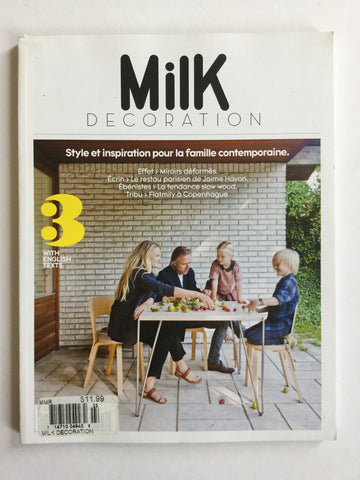 Milk 3 decoration