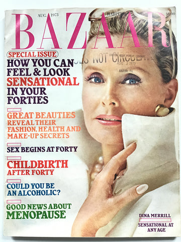 Harper's Bazaar August 1973