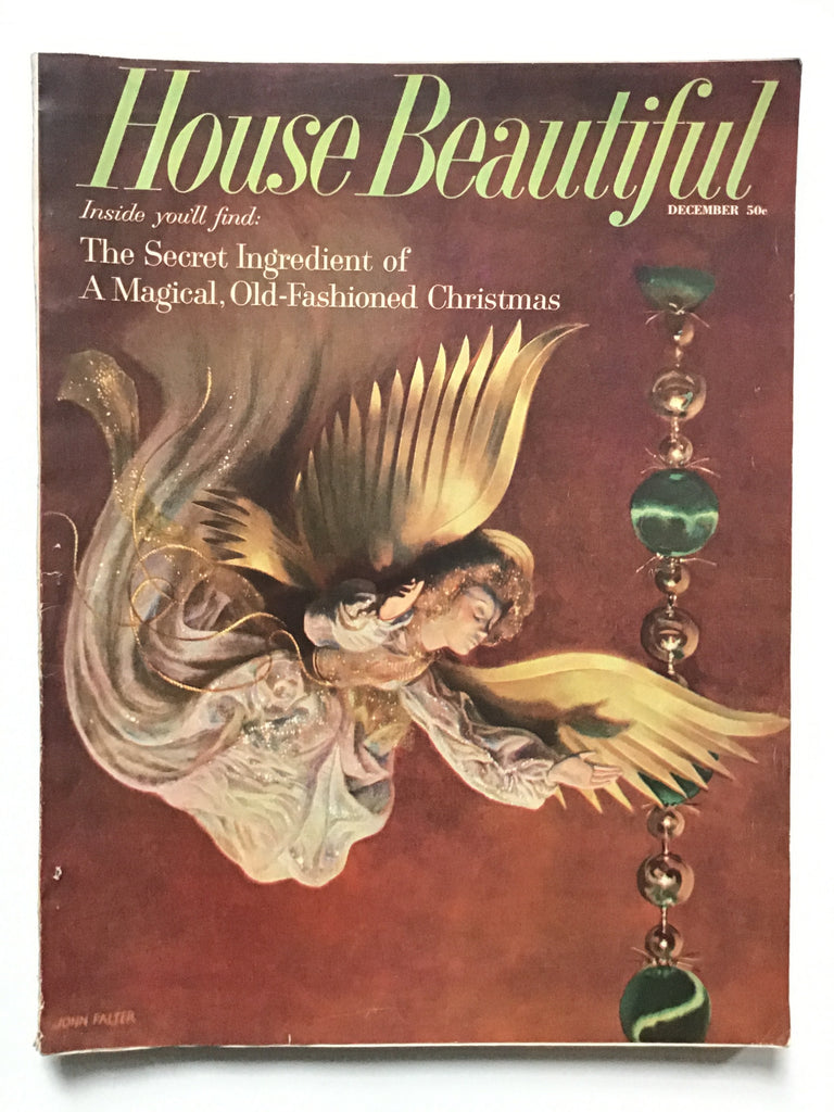 House Beautiful December 1958