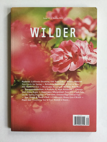 Wilder magazine issue VI Spring 2006