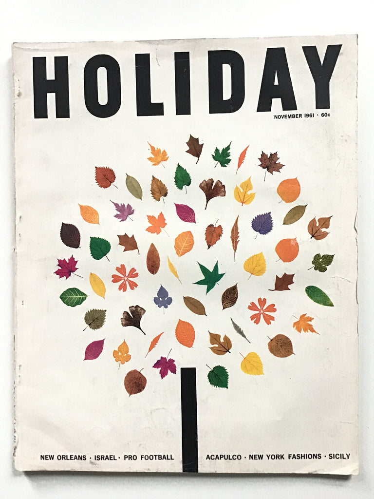 Holiday magazine November 1961