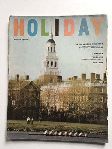 Holiday magazine November 1955