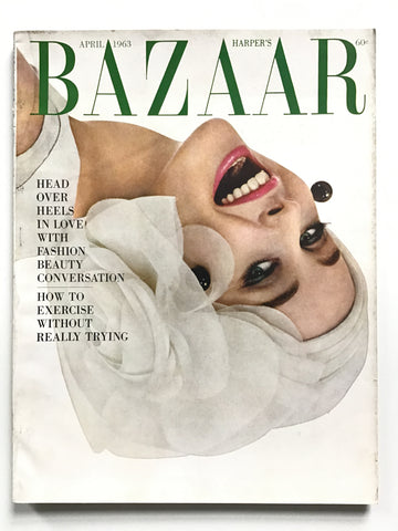 Harper's Bazaar April 1963