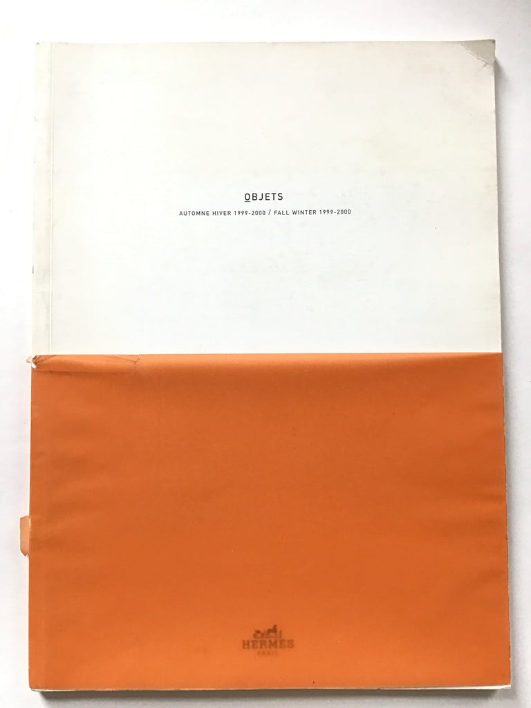Objets : Hermes Automne Hiver 1999-2000. Fall/Winter