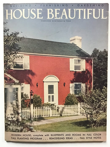 House Beautiful September 1941