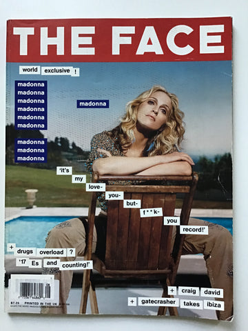 The Face  August 2000