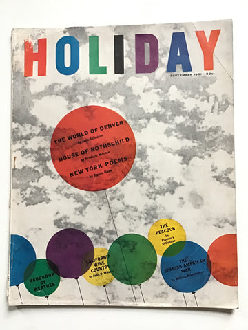 Holiday magazine September 1961