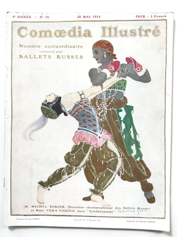 Comoedia Illustre 20 Mai 1914