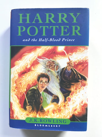 Harry Potter and the Half-Blood Prince first uk edition