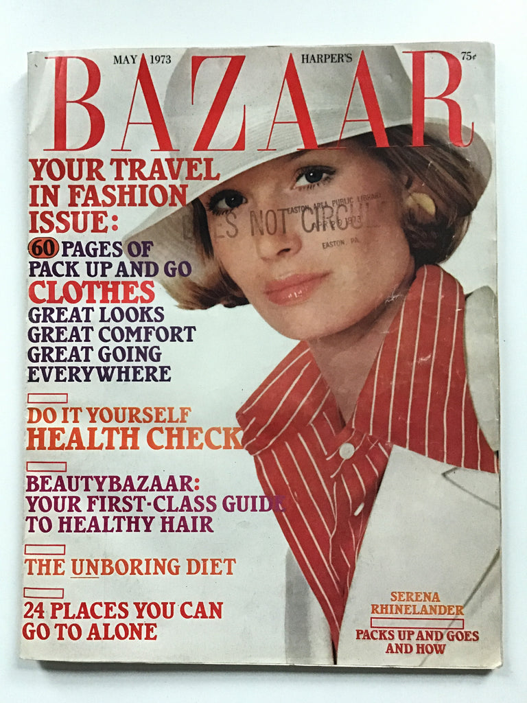 Harper's Bazaar May 1973