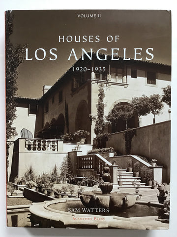 Houses of Los Angeles volume II