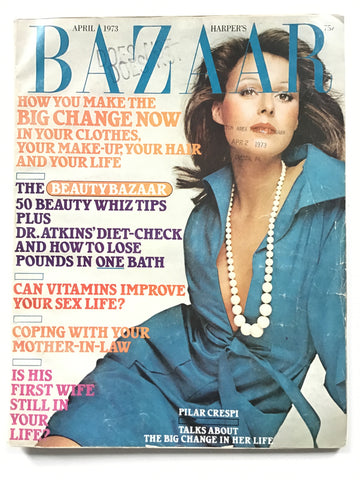 Harper's Bazaar April 1973