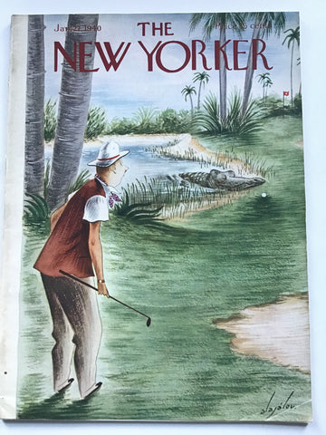 The New Yorker magazine Jan. 27,  1940