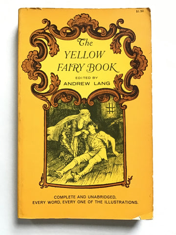 yellow fairy book