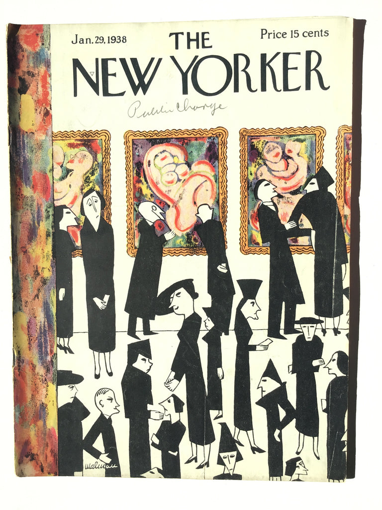 The New Yorker magazine Jan. 29, 1938