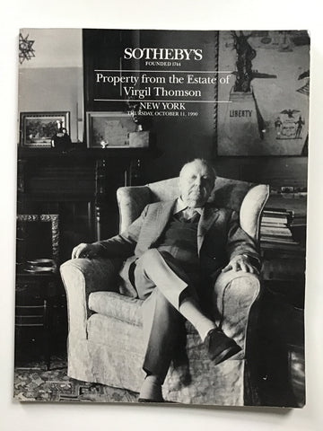 Property from the Estate of Virgil Thomson
