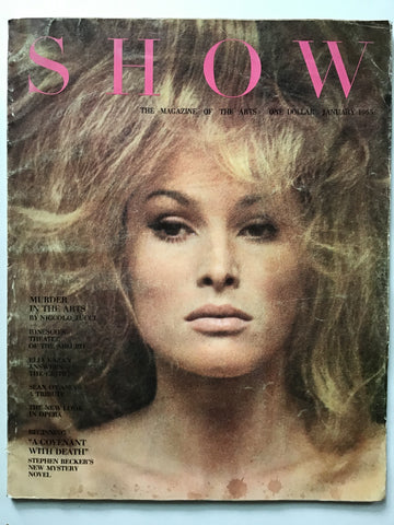 Show magazine January 1965 Nicholas Haslam art director