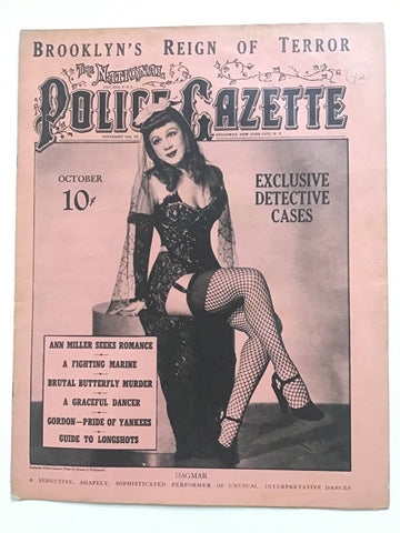 The National Police Gazette October 1942