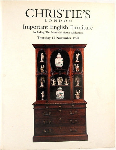 Important English Furniture /12 November 1998