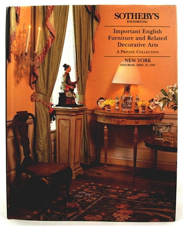 Important English Furniture and Related Decorative Arts- A Private Collection