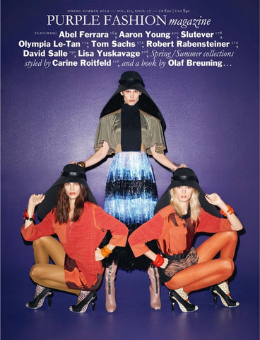 Purple Fashion Magazine Spring Summer 2012