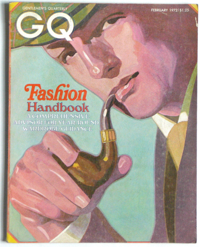 GQ Gentleman's Quarterly February 1972