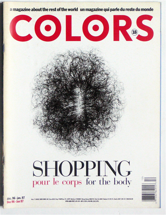 Colors magazine 18  Dec. 96-Jan. 97