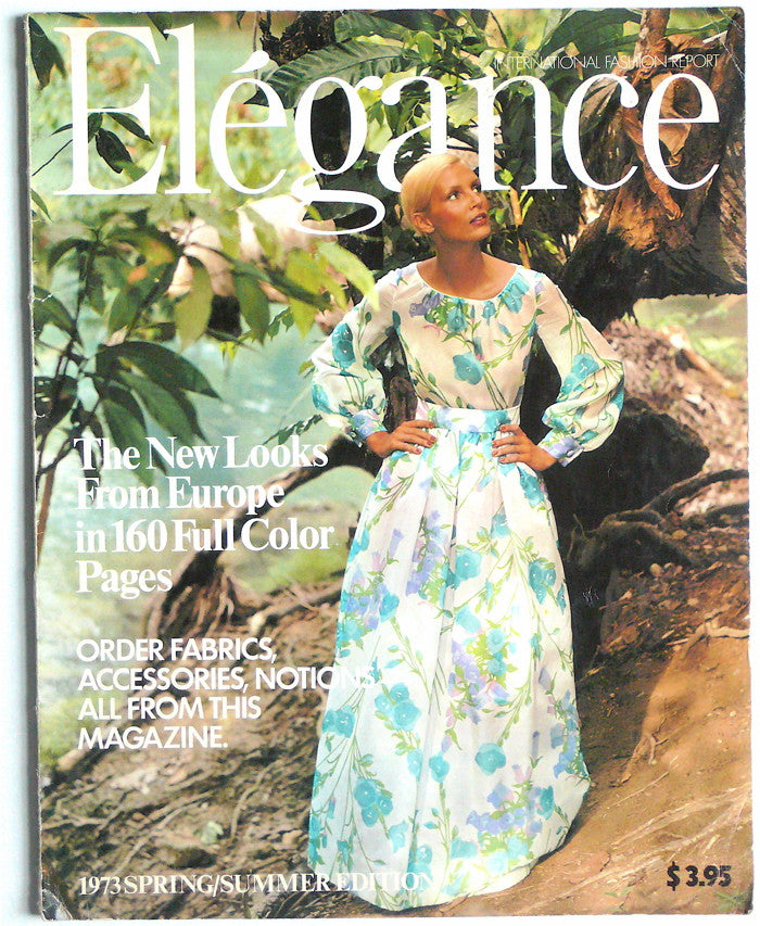 Elégance International Fashion Report 1973