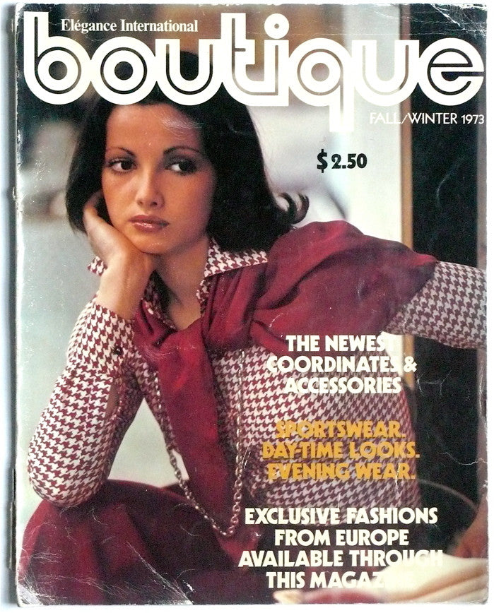 Elegance International Boutique fall/winter 1973