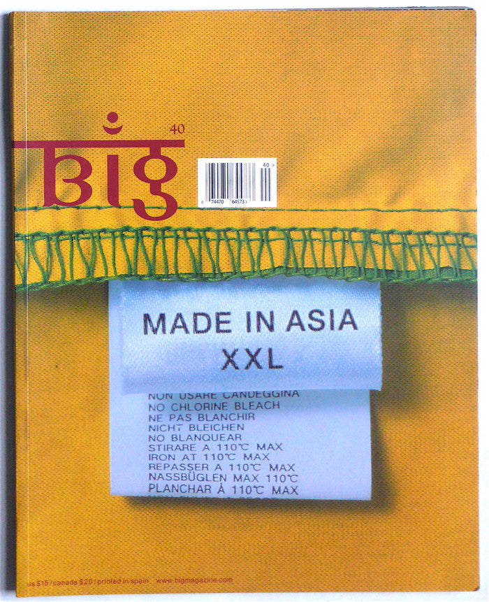 "Big magazine 40 ""Made in Asia"""