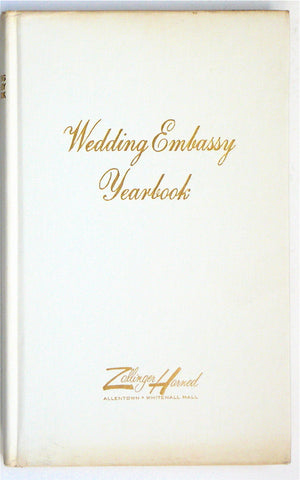 Wedding Embassy Yearbook 1968