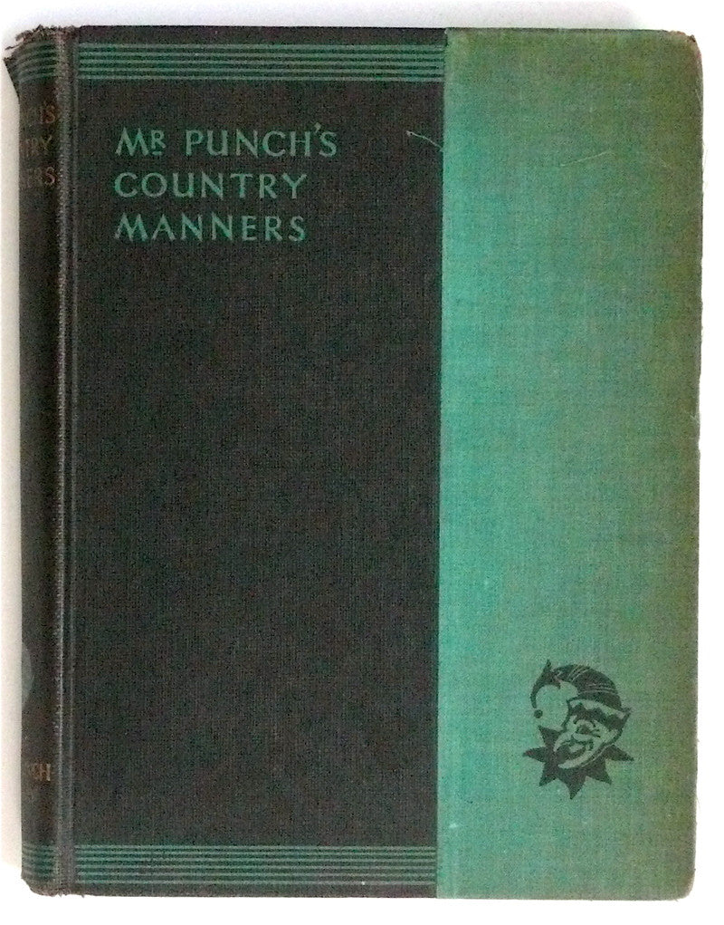 Mr Punch's Country Manners