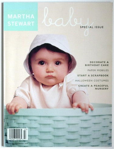 Martha Stewart Baby: Special Issue  Fall 2002