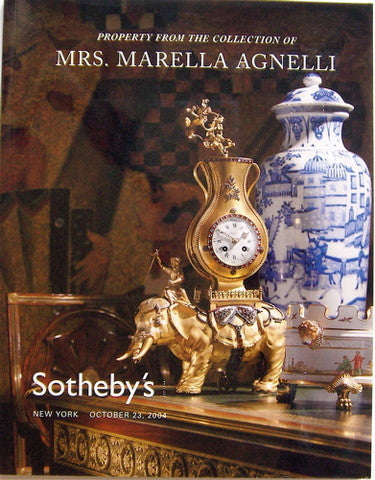 Property From the Collection of Mrs Marella Agnelli