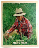 """Report on Men's Wear"" April 16 1972"