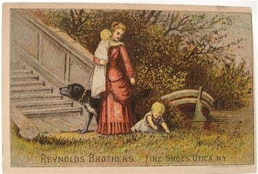 Reynolds Brothers Fine Shoes/ Old lithograph