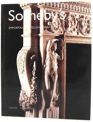 Sotheby's Important English Furniture  London 12 June 2002