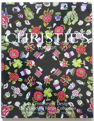 The Bianchini Ferier Collection Christie's sale 9185