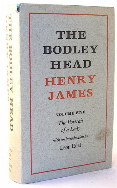 The Bodley Head Henry James/ The Portrait of a Lady