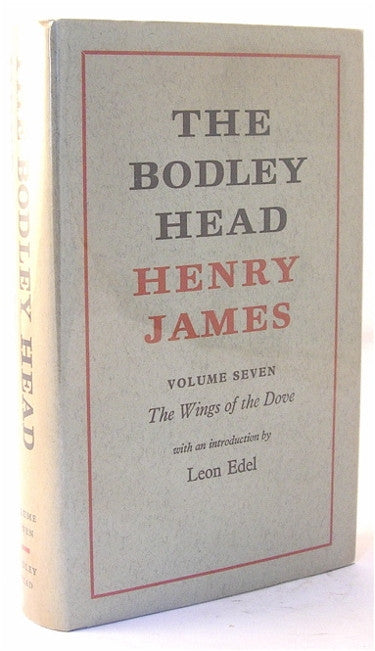 The Bodley Head Henry James/ The Wings of the Dove
