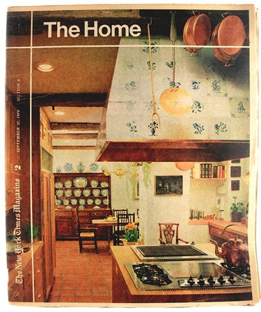"""The Home""  1970  The New York Times Magazine"