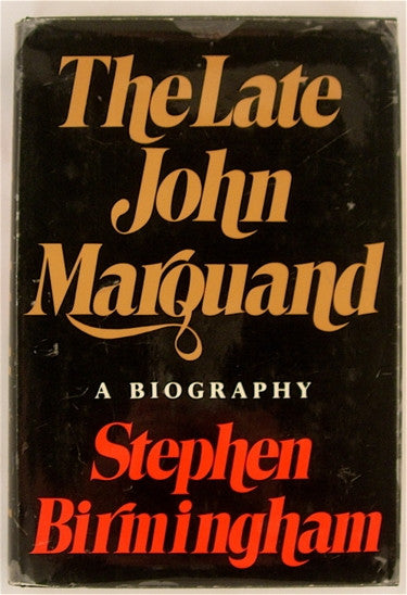 The Late John Marquand