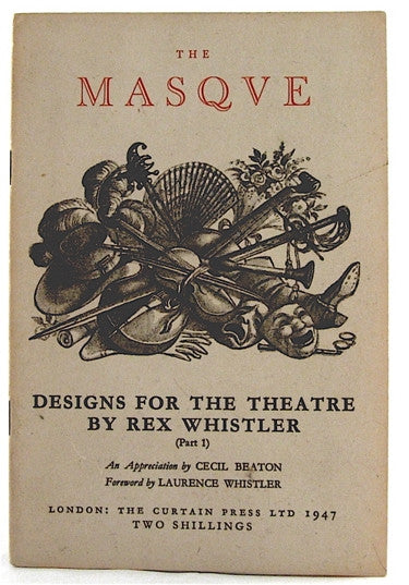 The Masque Designs for the Theatre Part One