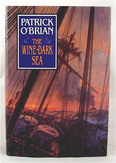 The Wine-Dark Sea by Patrick O'Brian  first edition
