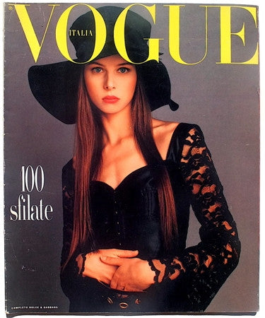 best service c4b3c 9f494 Vogue Italia Dossier Sfilate Primavera Estate 1993
