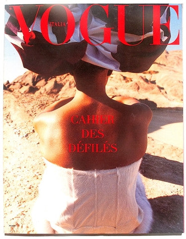Vogue Italia Dossier Sfilate Primavera Estate 2001-2002