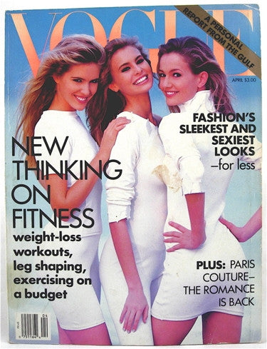 Vogue Magazine April 1991
