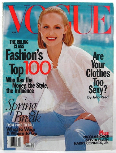 Vogue Magazine April 1998