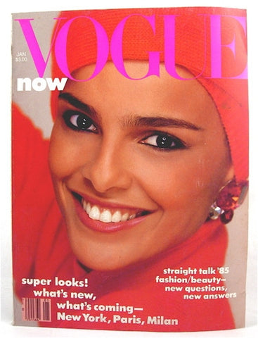 Vogue Magazine January 1985